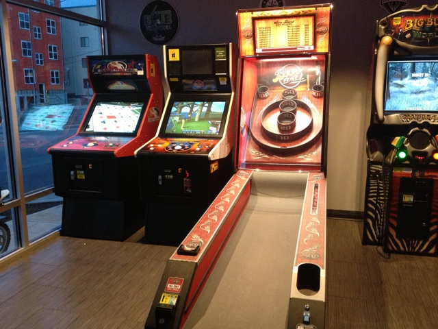 Red Line skee ball