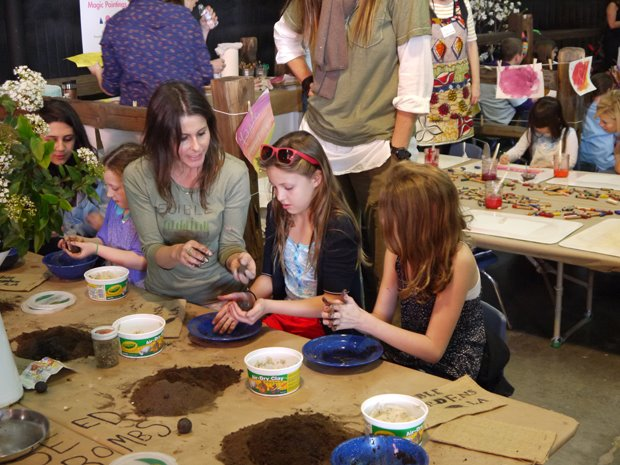 Seed bomb crafts