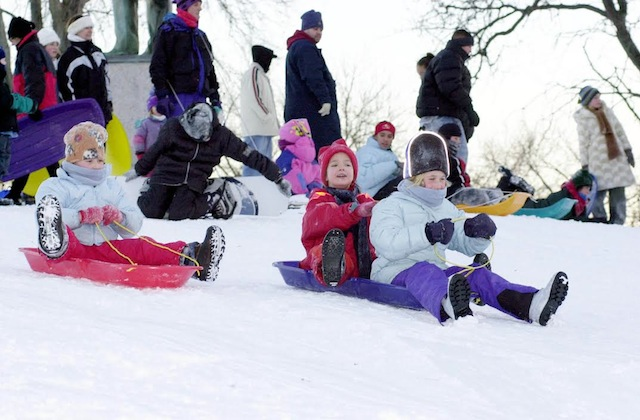 sledding-park-district
