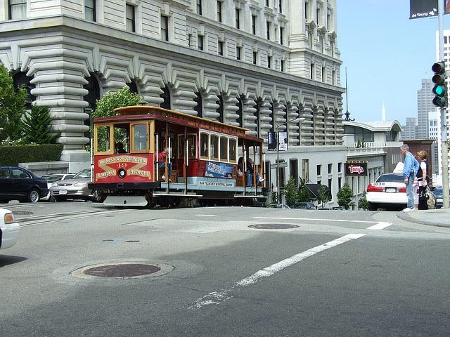 cable car by fairmont hotel, flickr Simon Allardice