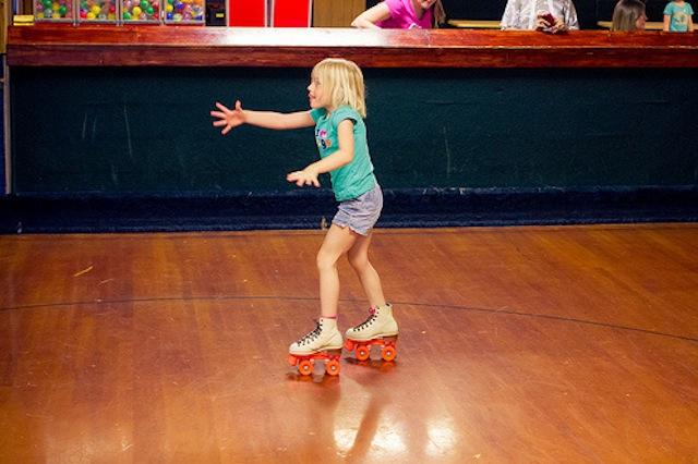 patinaje sobre ruedas para niños