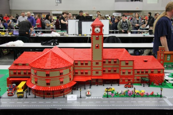 Lego Bricks Cascade Union Station