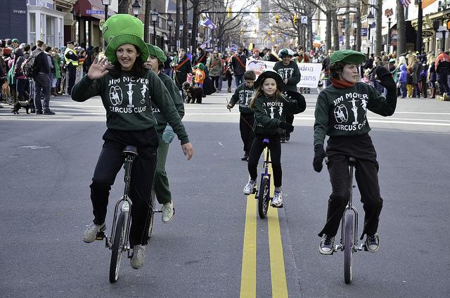 parade-bikers