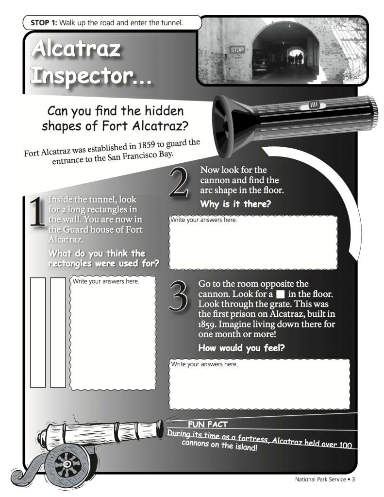 Alcatraz Activity Page