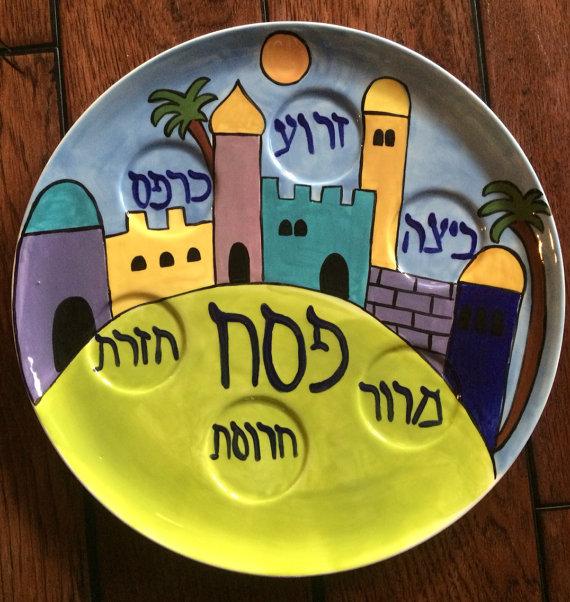 hand-painted-seder-plate