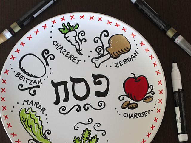 Homemade-Passover-Seder-Plate-5