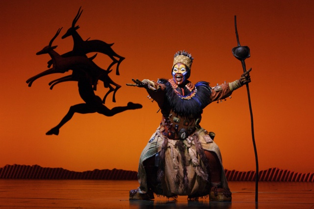 Lion King Rafiki Joan Marcus Credit