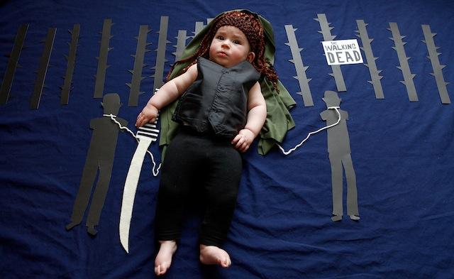 michonne-the-walking-dead-baby