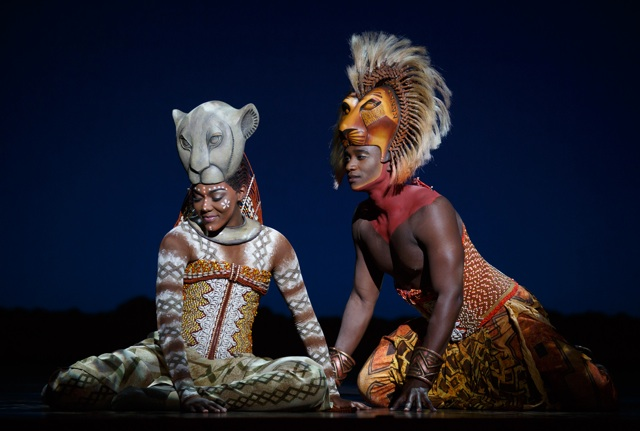Nala and Simba Lion King Joan Marcus credit