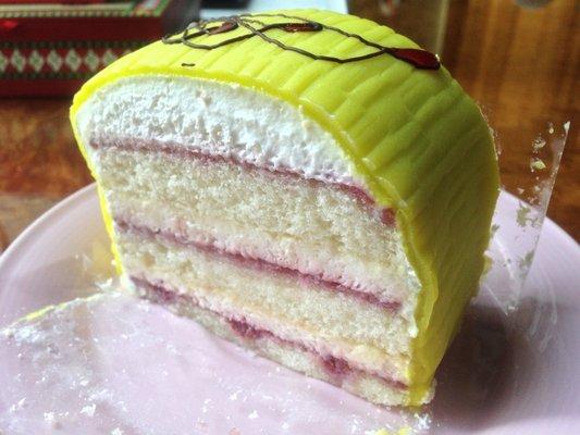 princess cake slice schuberts bakery via Yelp Stephanie L