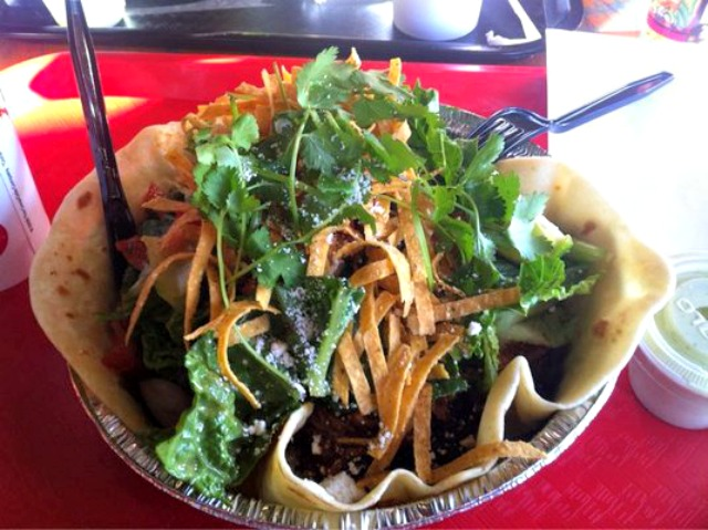 Cafe Rio Pork Barbacoa Salad