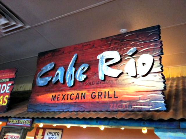 Cafe Rio Sign