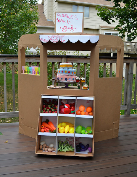 Grocery Store Stand by ikatbag