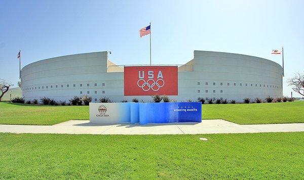 Main entrance of U.S. Olympic Training Center