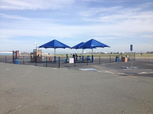 Picnic Area at Buchanan Field Airport