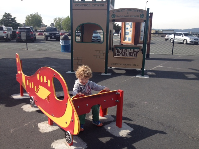 Play Structures at Buchanan Field Airport