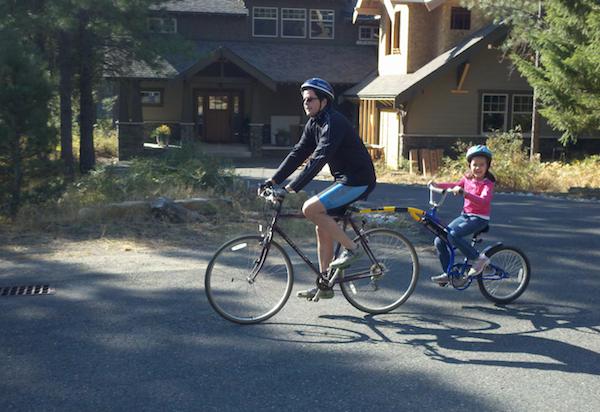 Suncadia biking