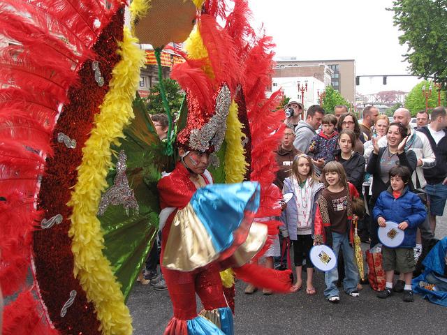 portland pride latino dancer kids