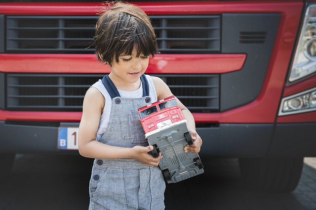 kid fire truck
