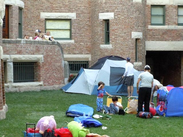 glessner-house-campout