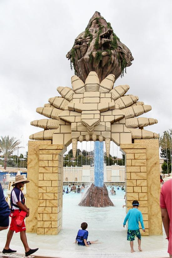 Lion Temple Wave Pool - Chima Water Park, Legoland California