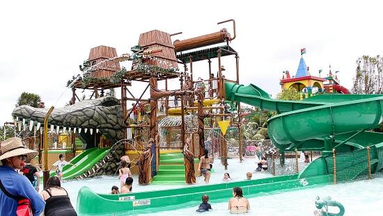 Craggers Swamp, Chima Water Park, Legoland California