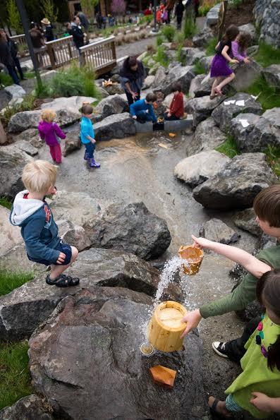 Outdoor Adventure Water and Kids