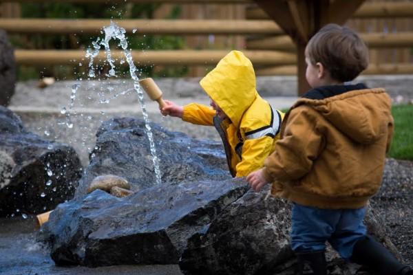 OutdoorAdventure Fountain