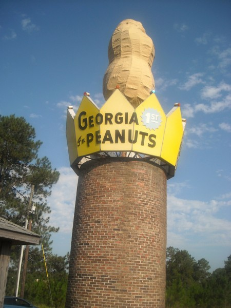 Peanut Monument