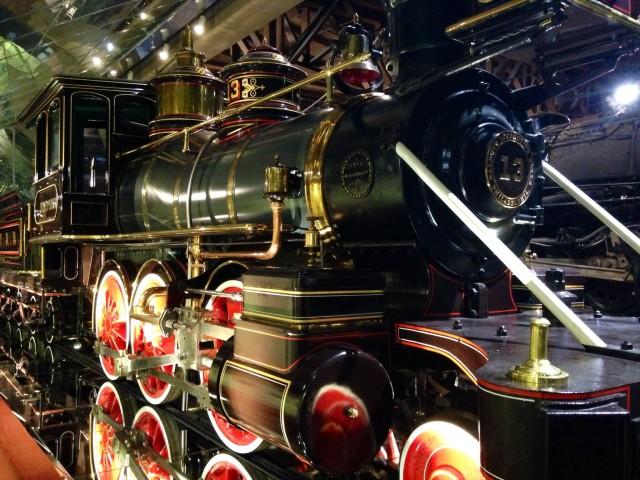 Engine at California State Railroad Museum