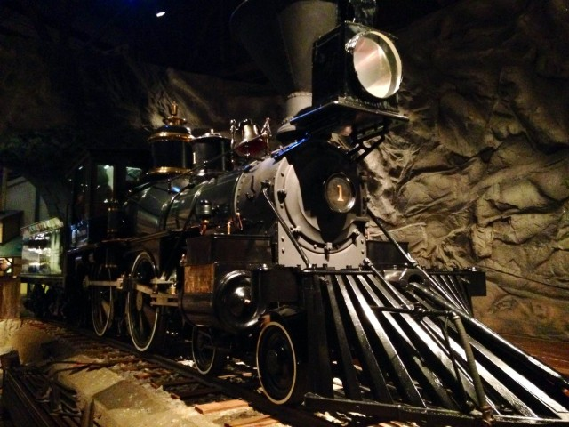 Engine at California State Railroad Museum