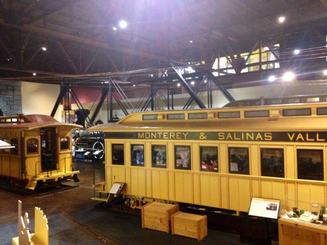 Railcars at California State Railroad Museum