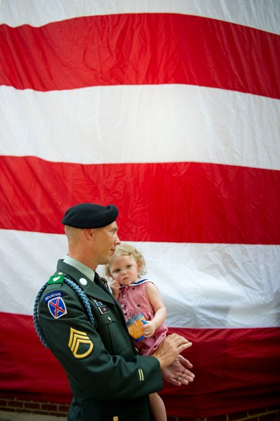 Solider with Girl