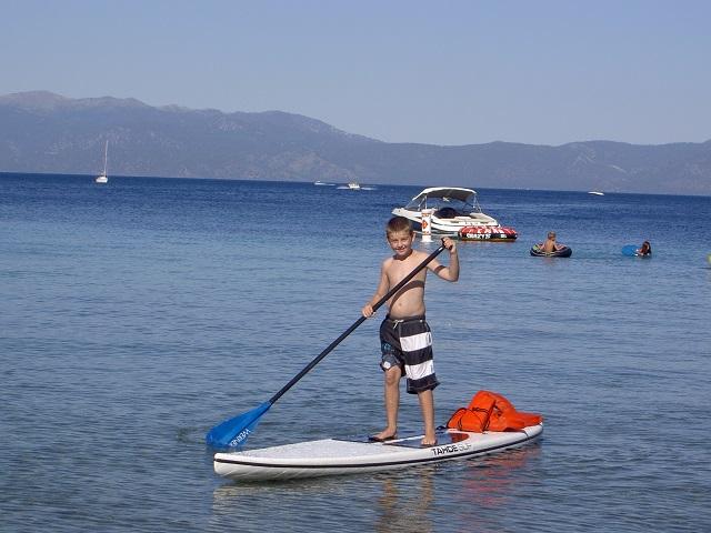 Tahoe Meeks Bay 2 sSUP