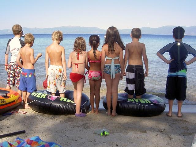 Tahoe opening shot