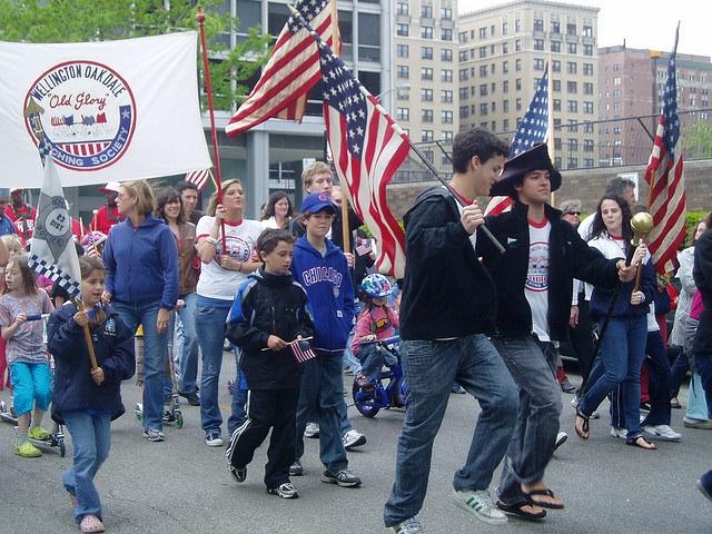 Woogms-parade