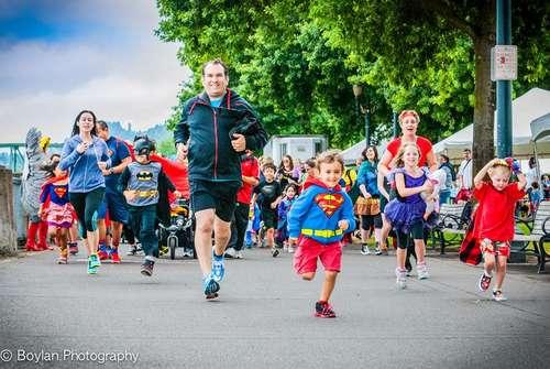 Portland Or. Superhero Fun Run