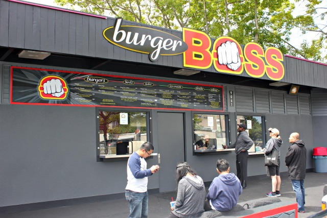 Burger Boss Sign