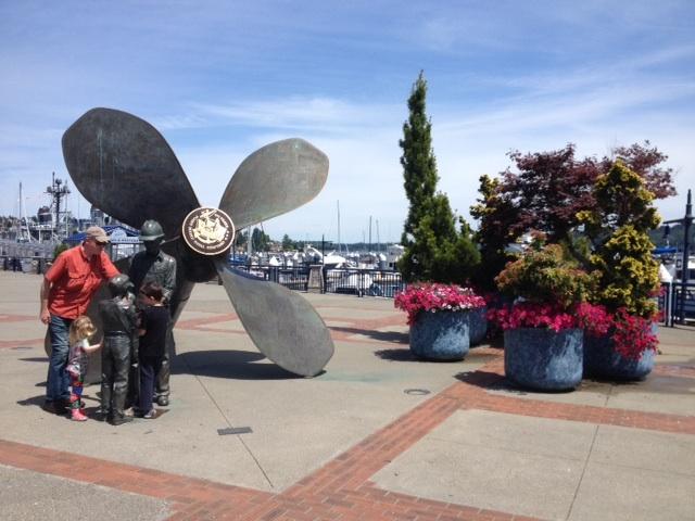 Giant Propellor Bremerton