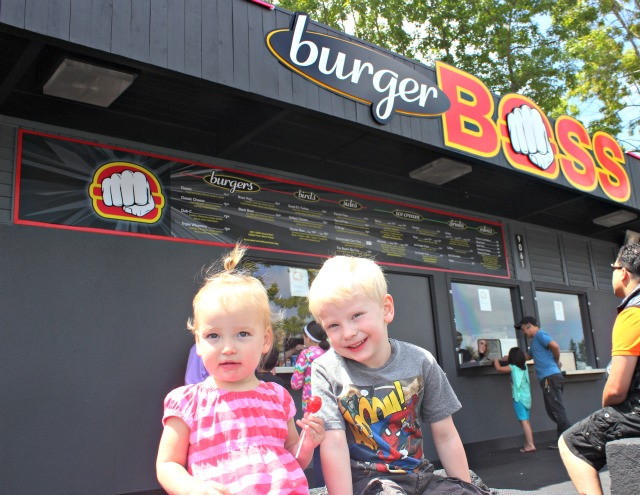 Kids at Burger Boss