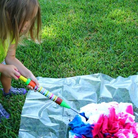 Preschool-Tie-Dye-Project