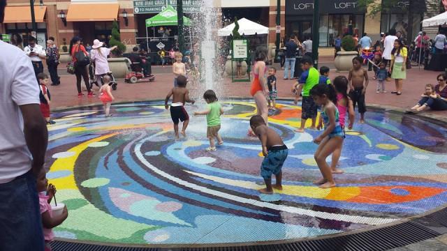 Silver Plaza Spray Ground