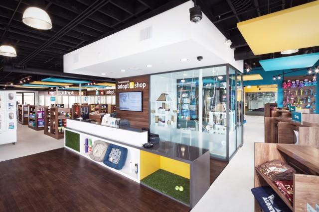 Adopt & Shop interior