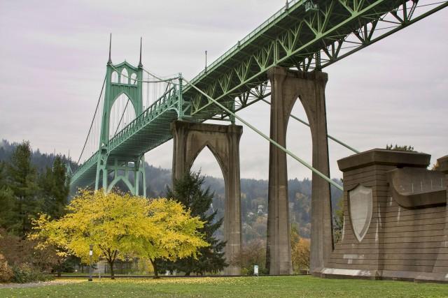 Cathedral Park St. Johns Bridge