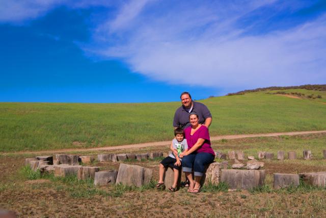 Family at Rancho Sierra Vista