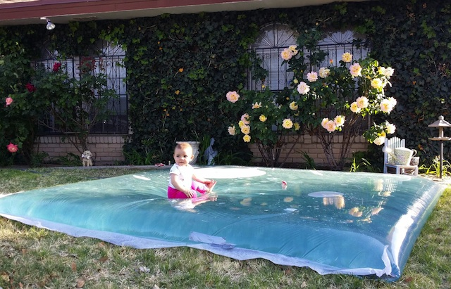 Giant Outdoor Water Sensory Bed