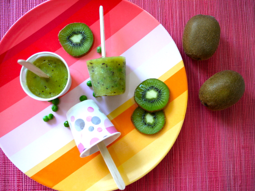 Kiwi-Popsicles