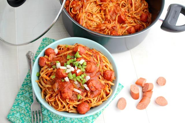 Salchicha de espagueti Good Cook