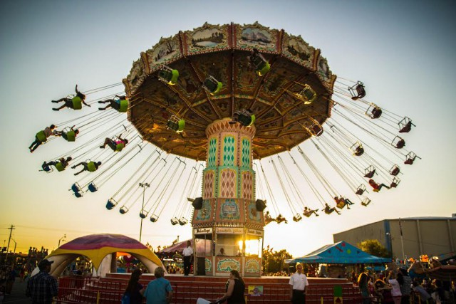 oregon state fair swing rides