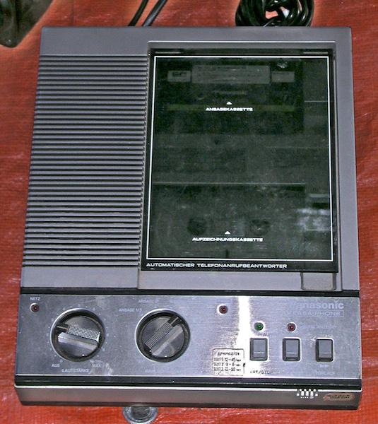 Panasonic-Anrufbeantworter